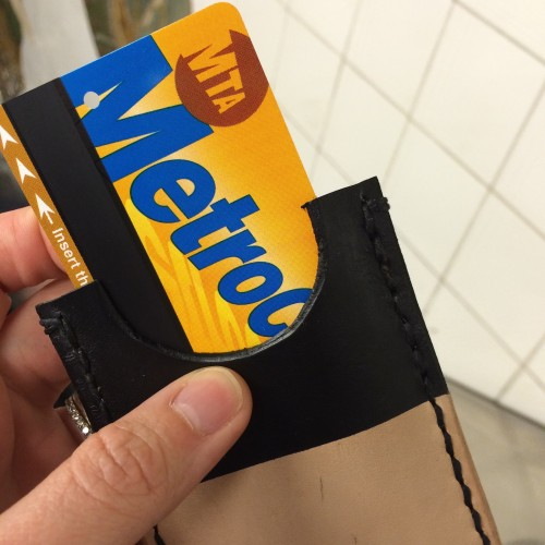 Metro Card in Card Holder