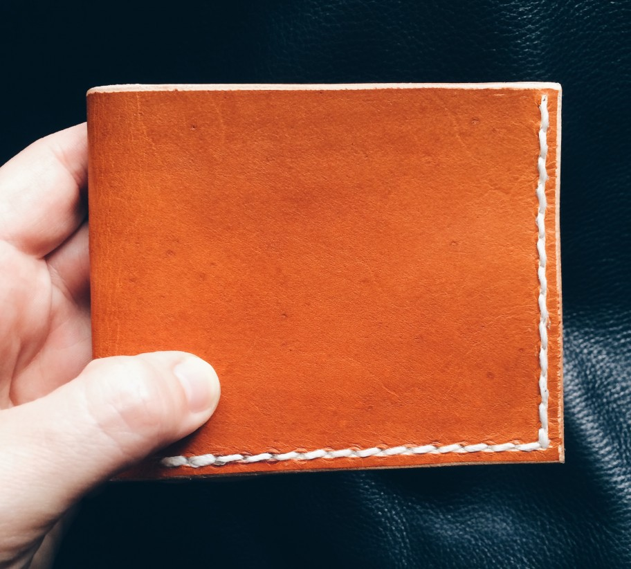 Front of Two Tone Men's Wallet